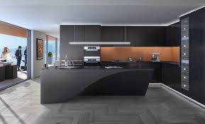 kitchen black curved bench kitchen amber inlet nice chrome