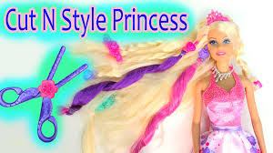 baby doll hair extensions cut n style princess doll hair extensions cutting play