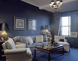 elegant navy blue living room with navy carpet flooring living