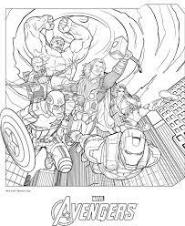 dessin de coloriage avengers gratuit cp02280 monopoly marvel