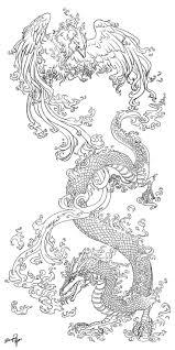 26 best japanese dragon tattoo stencil images on pinterest