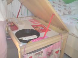 ikea sniglar changing table to kids desk ikea hackers ikea hackers