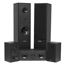 Acoustic Sound Design Home Speaker Experts Avhtb Surround Sound Home Theater 5 Speaker System Fluance
