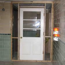 outside exterior basement doors u2014 new basement and tile