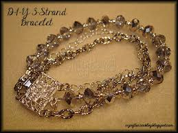 diy glass bead bracelet images D i y 3 strand glass bead chain bracelet enjoy the view jpg