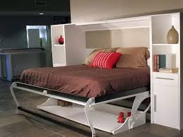 Folding Bed Desk Simple Murphy Bed Couch Ideas Suited For Small Interior
