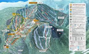 Green Circle Trail Map Stg Northstar At Tahoe