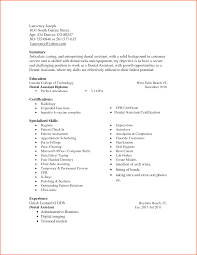 Computer Skills List Resume Fascinating Office Skills List Resume On Dental Assistant Skills