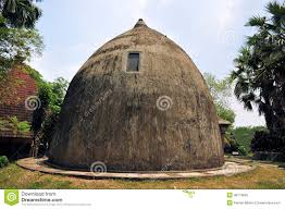 Traditional House Traditional House On East Nusa Tenggara Indonesia Stock Photo
