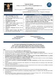 Sample Resume For Oracle Pl Sql Developer by Resume