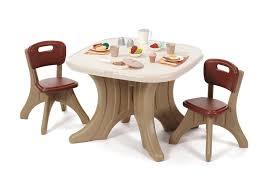 amazon com step2 traditions table u0026 chairs set toys u0026 games