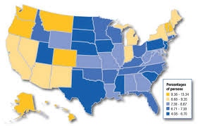us map states by color how and how much the 50 states do drugs in 5 maps the