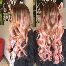 curly hair with lowlights balayage and painted in lowlights hair colors ideas
