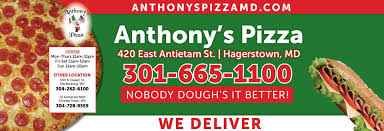 Hagerstown Md Zip Code Map by Anthony U0027s Pizza In Hagerstown Md Local Coupons October 05 2017