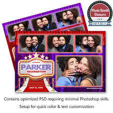 hollywood photo booth layout 30 best photo booth print layout images on pinterest photobooth