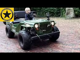 small jeep for kids children jeep 3 year old boy drives gasoline powered jeep like crazy