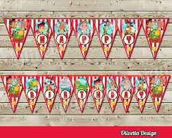 jake and the neverland pirates bithday banner instant
