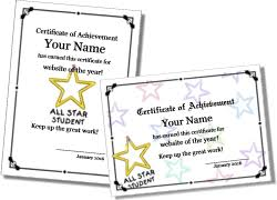 certificate templates printable certificates and award templates
