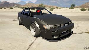 nissan silvia s13 6666 rocket bunny 1 7 for gta 5