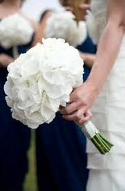 s simple but beautiful wedding bouquet of white jumbo