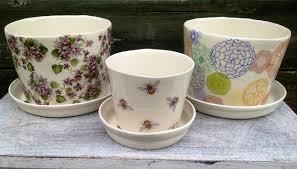 large porcelain indoor plant pot caroline nash