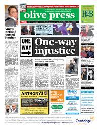 olive press newspaper u2013 issue 238 by olive press newspaper spain