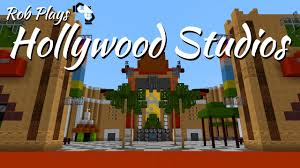 Disney Hollywood Studios Map Minecraft Disney World Hollywood Studios Part 1 Mcmagic Youtube