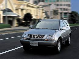harrier lexus 2007 curbside capsule lexus rx 300 u2013 toyota crosses over to the future