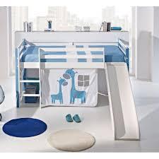 chambre enfant toboggan chambre enfant chambre literie lit surélevé aloha couchage 190