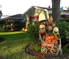 halloween displays in yard front yard halloween ideas decorate ideas excellent at front yard