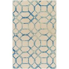 What Is A Tufted Rug Artistic Weavers Organic Brittany Hand Tufted Teal Ivory Area Rug
