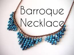 beaded bead necklace images Beading ideas barroque necklace jpg