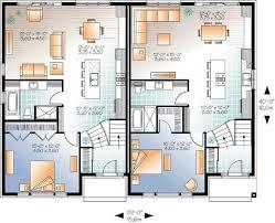 multifamily house plans floor plan modern family house best of sleek modern multi family