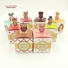 online shop big heard love 50pcs lots animal candy box baby shower