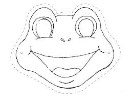 printable lizard mask template reptiles queensland nature 4 you colour me in