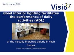 lighting for visually impaired good interior lighting facilitates the performance of daily