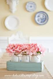 Mason Jar Floral Centerpieces Mason Jar Wall Decor Country Chic Wall By Countryhomeandheart