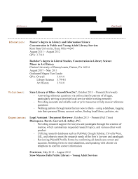 how to write bachelor of science degree on resume library resume hiring librarians unnamed job hunter 19 page 1