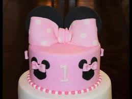 Decorating With Fondant Cake Decorating Tutorial How To Make A Minnie Mouse Bow With