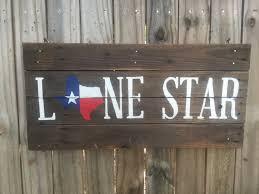 texas flag lone star pallet sign texas decor texas pallets