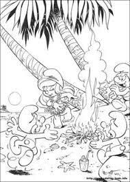 billedresultat smurfs coloring pages smurfs coloring