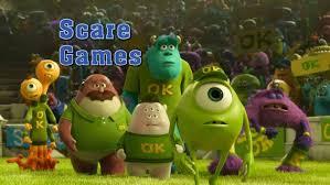 scare games monsters university disney video