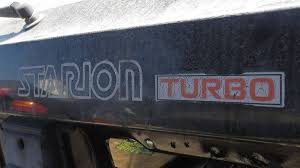 mitsubishi starion dash turbo badging of the most turbocharged decade the 1980s autoweek