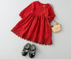 online get cheap black red and white dresses for kids aliexpress