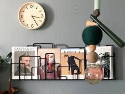 minus tio city sunday city sunday wall mounted magazine rack in black photo by igor josifovic on happy interior blog