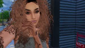 the sims 4 natural curly hair ts4 curly hair tumblr