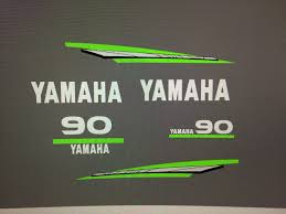 decals stickers and patches 179988 yamaha 2 stroke 60 70 85 90hp