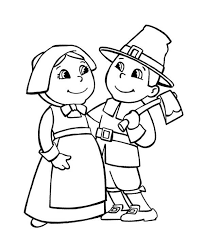 pilgrim couple coloring pages holiday coloring pages