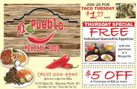 food coupons mi pueblo mexican food coupons money saver magazine