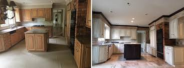 cabinet refinishing photos premier painting kitchen cabinet refinishing in grosse pointe michigan